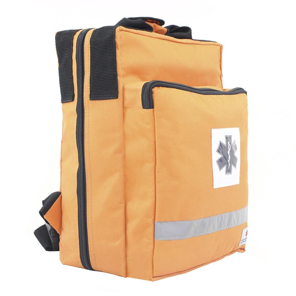 Bolsa Mochila Fibra Resgate Cruz da Vida APH-729 Laranja