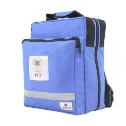 Bolsa Mochila Fibra Resgate Samu APH-715 Azul