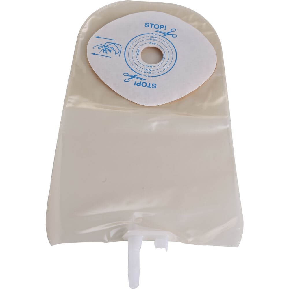 Bolsa Urostomia Convatec Active Life Recortável 19-45mm Transparente