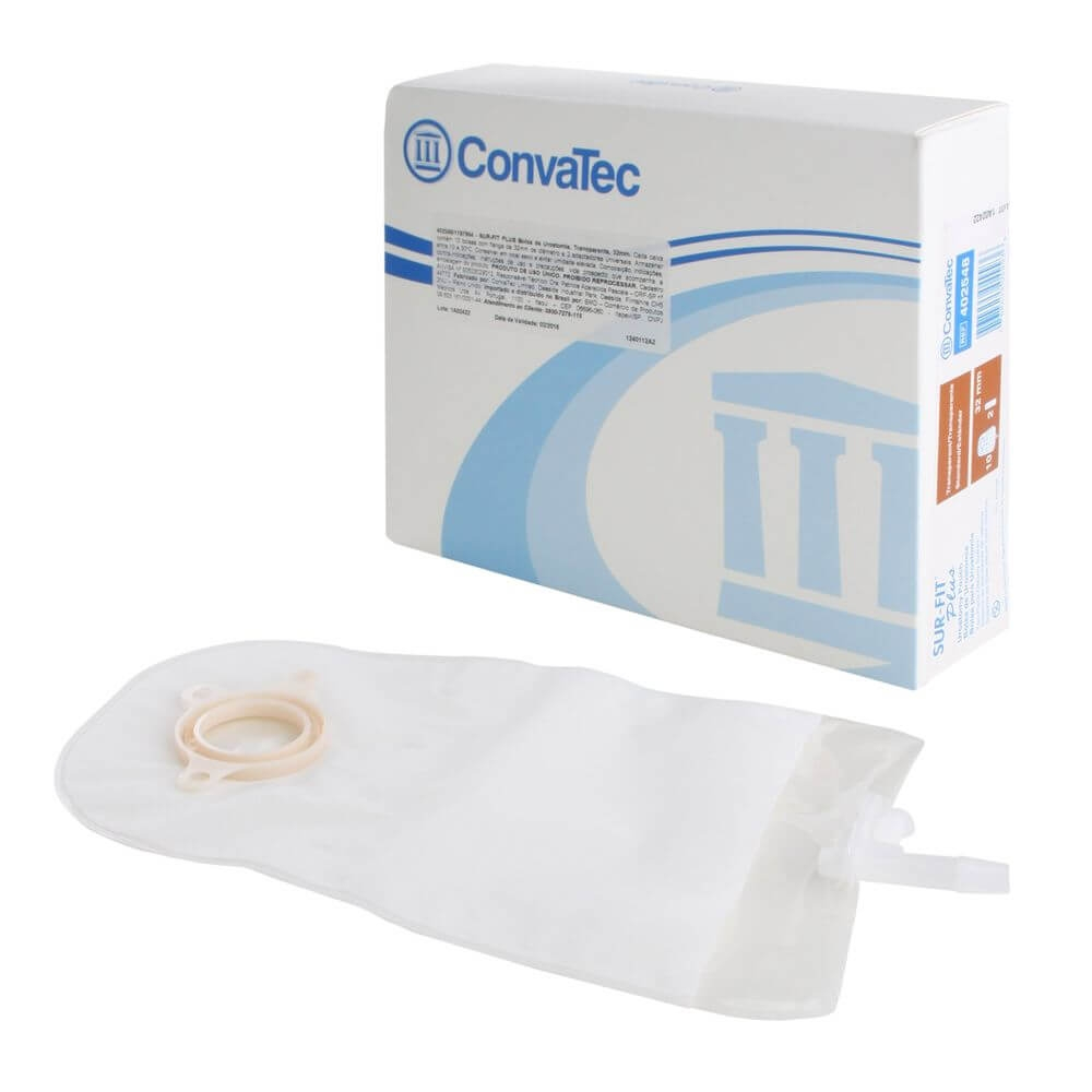 Bolsa Urostomia Convatec Sur-Fit Plus Drenável Standart 57mm