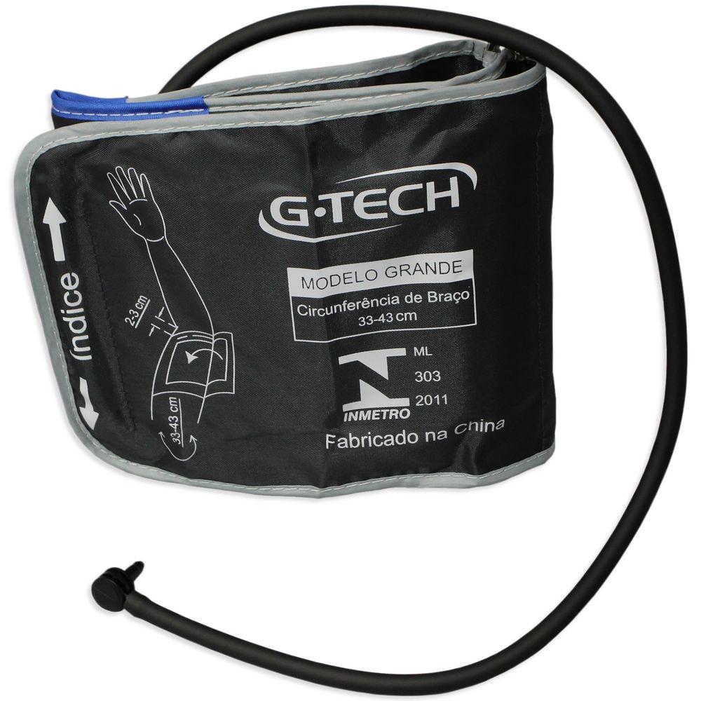 Braçadeira Reutilizável G-Tech para Aparelho Pressão Digital LA250 Adulto Grande