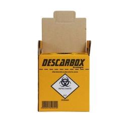 Coletor de Materiais Perfurocortantes Descarbox Ecologic 13l