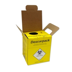 Coletor Perfurocortante Descarpack Descartável 13 litros
