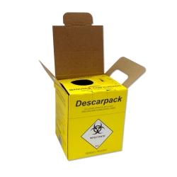 Coletor Perfurocortante Descarpack Descartável 3 litros