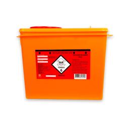 Coletor Perfurocortante Descarpack Rígido para Resíduos Tóxicos 7 litros