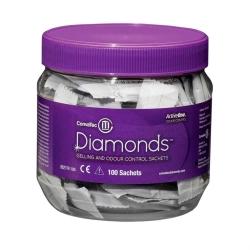 Sachê Gelificante Diamonds Convatec para Controle de Odor 100 un.