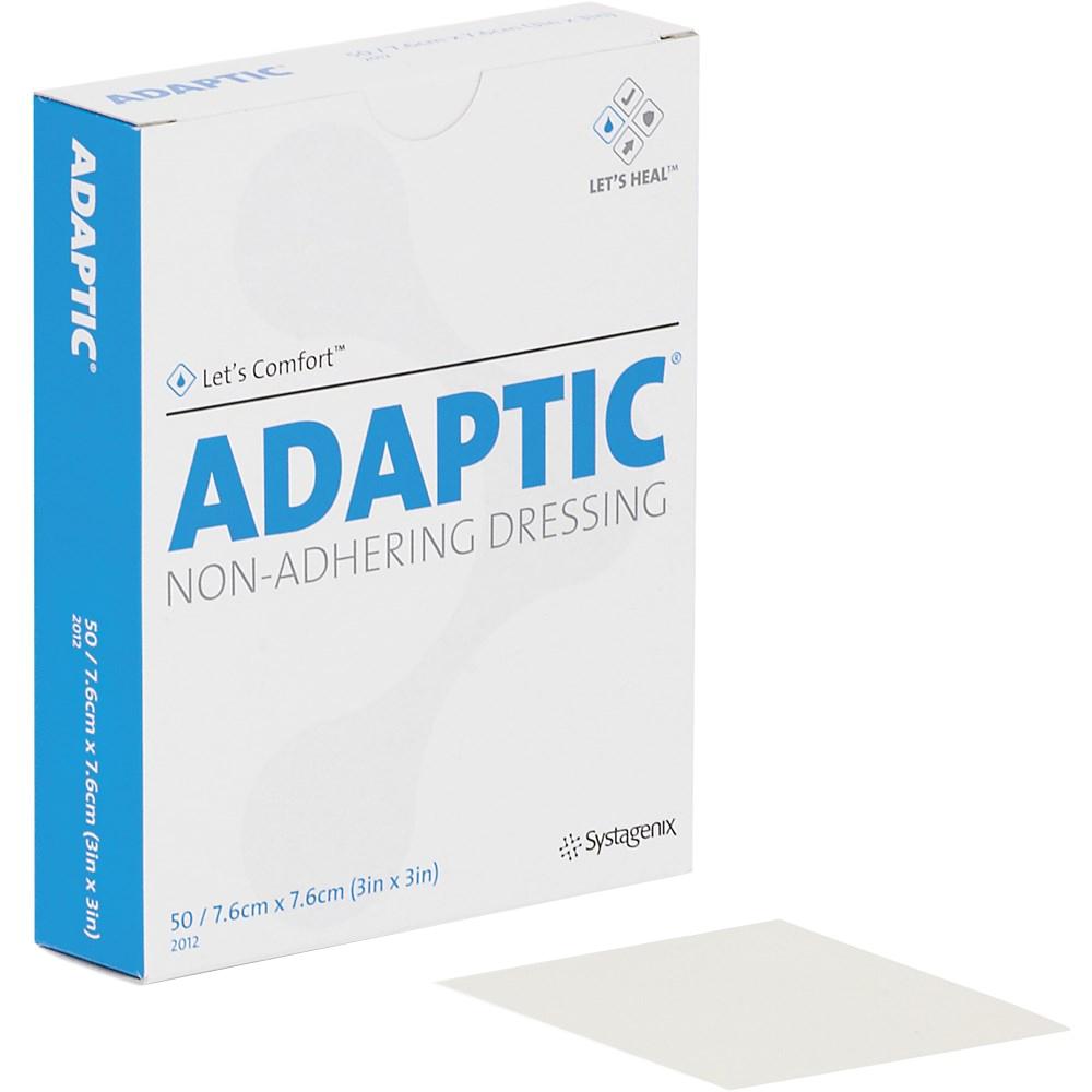 Curativo Adaptic Systagenix 7,6 x 7,6cm