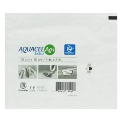 Curativo Aquacel Convatec AG+ Extra Estéril Prata 10 x 10 cm