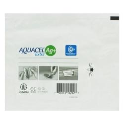 Curativo Aquacel Convatec AG+ Extra Estéril Prata 15 x 15 cm