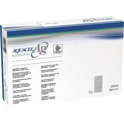 Curativo Aquacel Convatec AG Surgical Prata Estéril 9 x 35cm