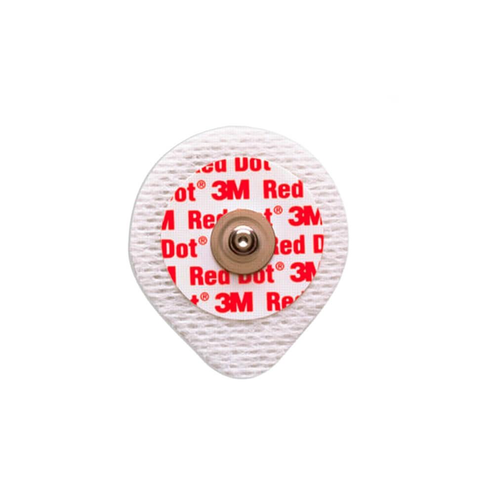 Eletrodo 3M Descartável Red Dot Neonatal 2258-BRN com 3 un.