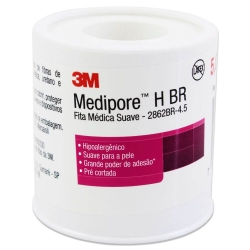 Fita Medipore 3M 50mm x 4,5m Suave Branca 2862