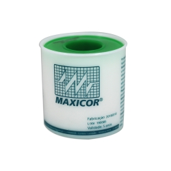 Fita Micropore Maxicor Hipoalergênica 50mm x 10m