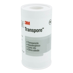 Fita Transpore 3M 100mm x 4,5m Transparente 1527