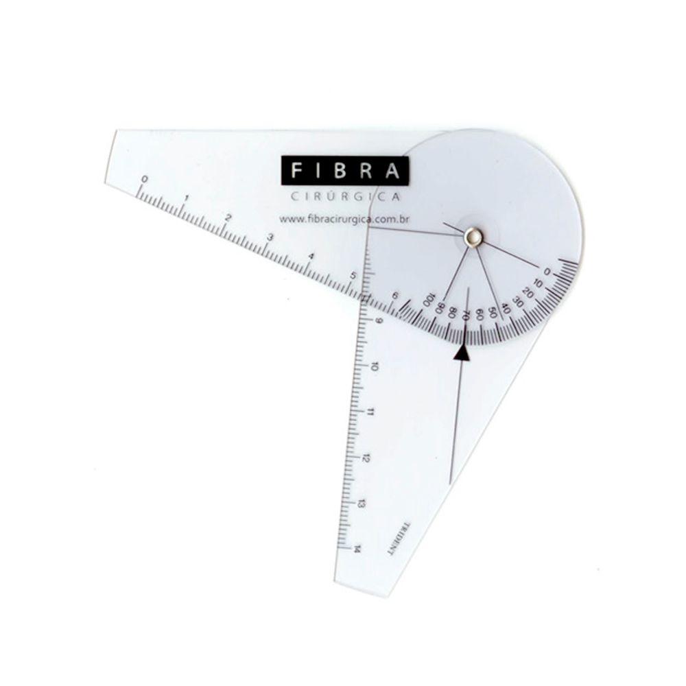 Goniômetro Fibra Cirúrgica Pequeno 7cm