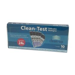 Indicador Biológico Clean-up Clean Test 24 horas a Vapor com 10 un.