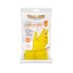 Luva de Látex para Limpeza Talge Amarela Par