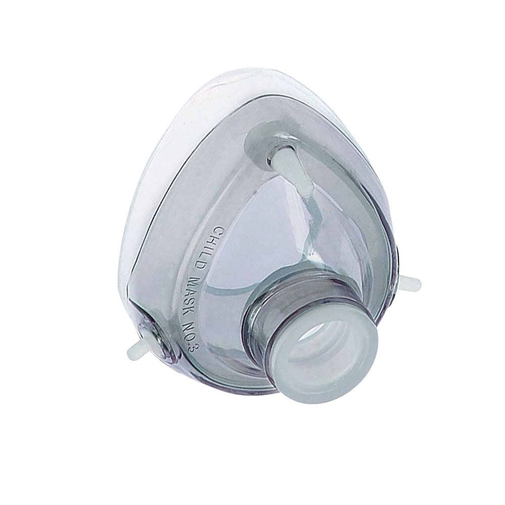 Máscara de Silicone MD com Cúpula para Reanimador Manual Infantil nº3