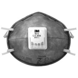 Respirador Descartável 3M tipo Concha Valvulado PFF-1 8013
