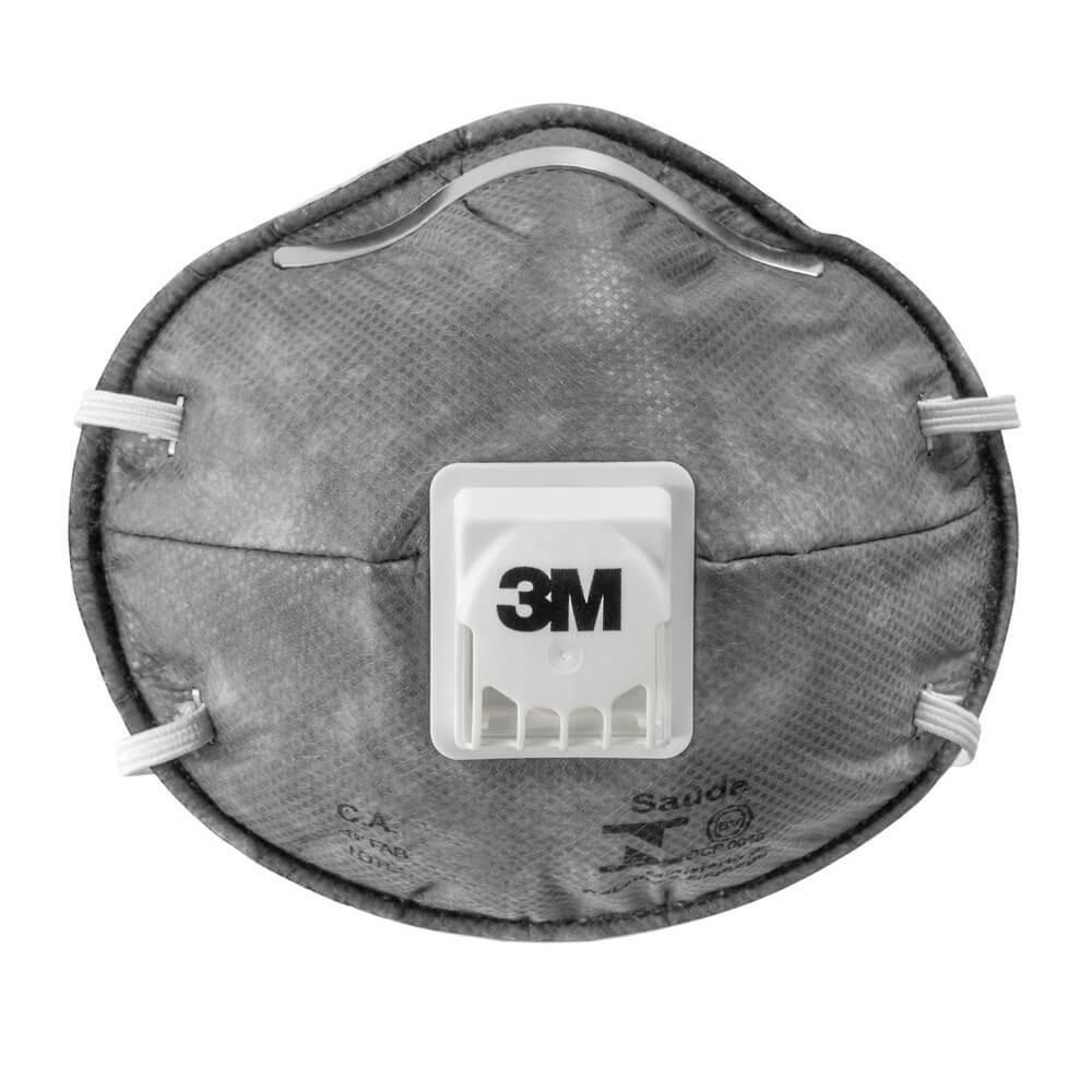 Respirador Descartável 3M tipo Concha Valvulado PFF-2 8023
